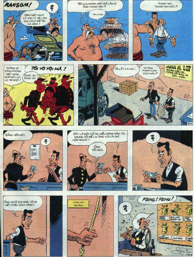 Lucky Luke tập 68 trang 43