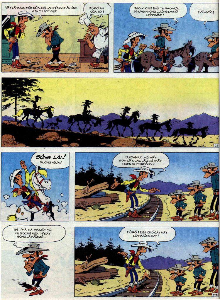 Lucky Luke tập 62 trang 22