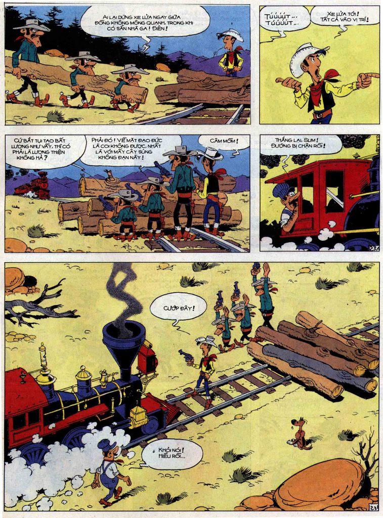 Lucky Luke tập 62 trang 23