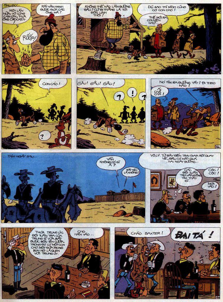 Lucky Luke tập 60 trang 9