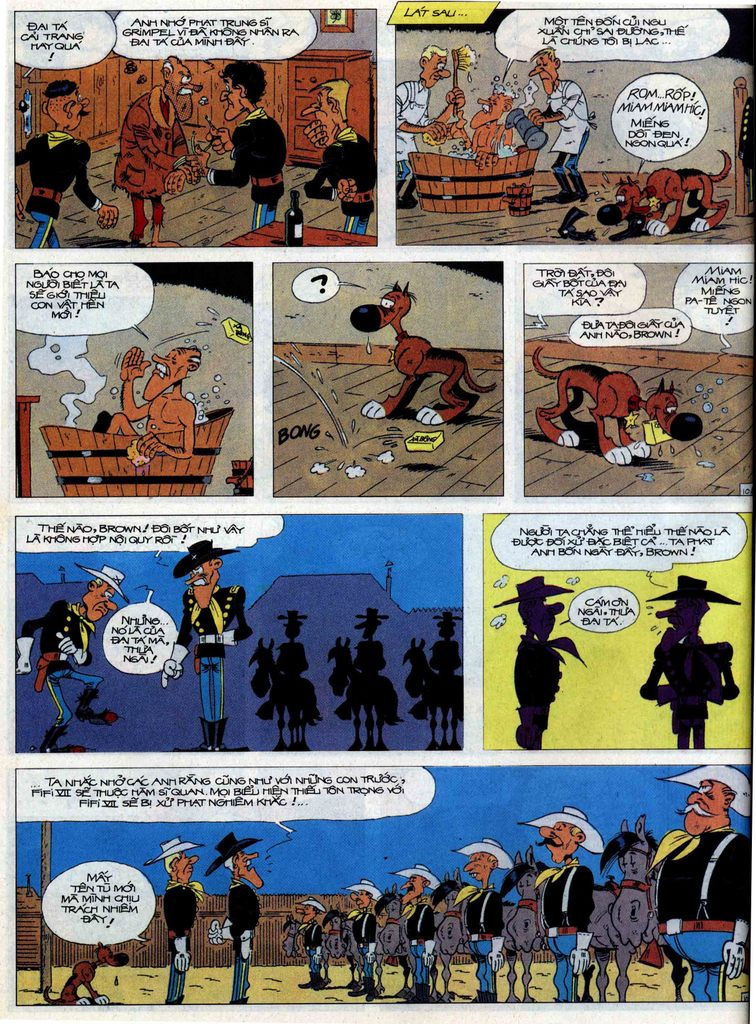 Lucky Luke tập 60 trang 10