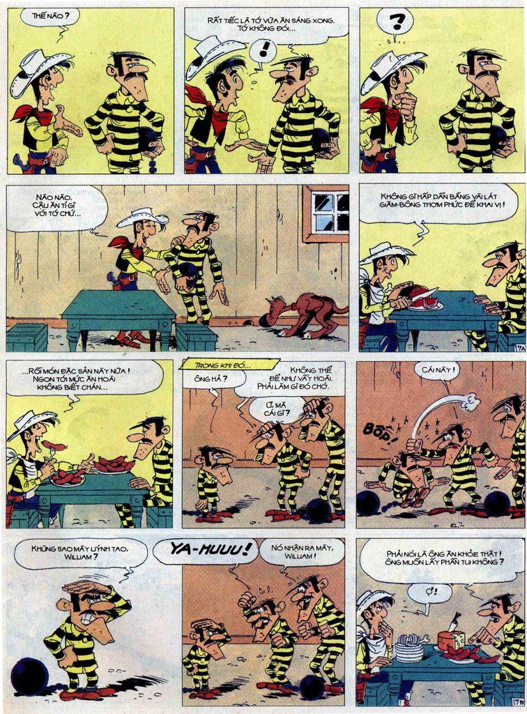Lucky Luke tập 62 trang 17