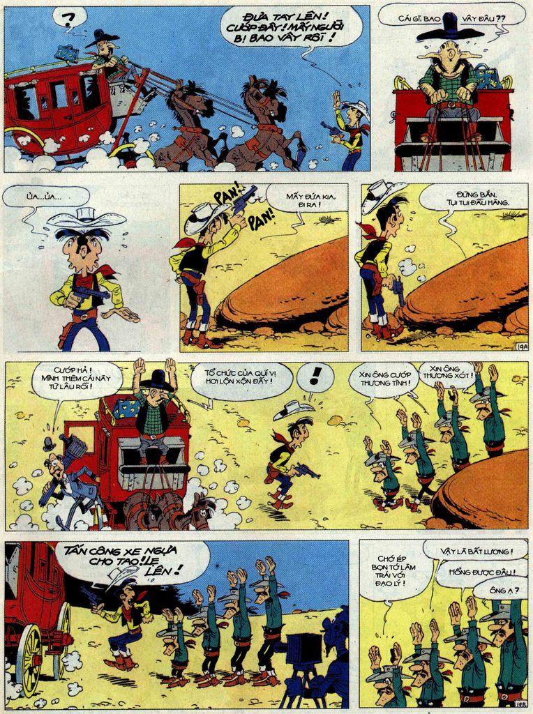 Lucky Luke tập 62 trang 19
