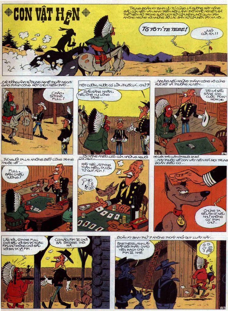 Lucky Luke tập 60 trang 1