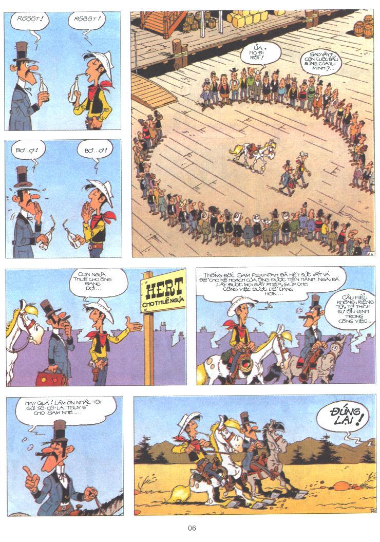 Lucky Luke tập 61 trang 4