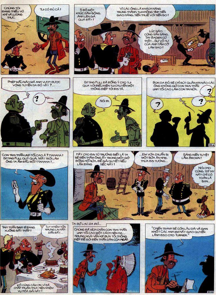 Lucky Luke tập 60 trang 33