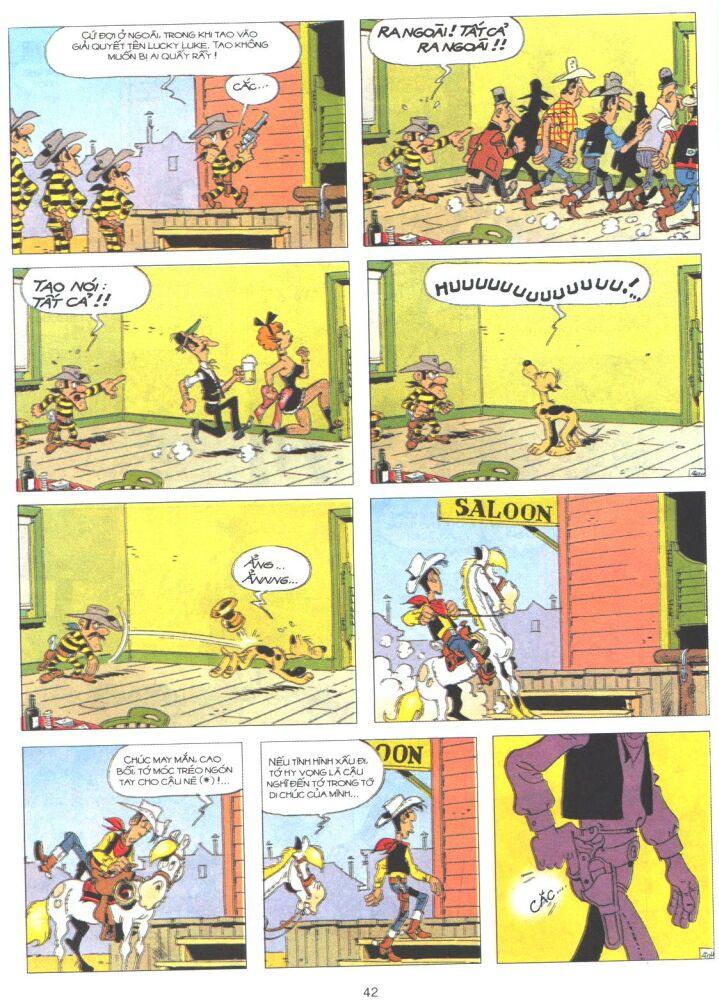 Lucky Luke tập 61 trang 40