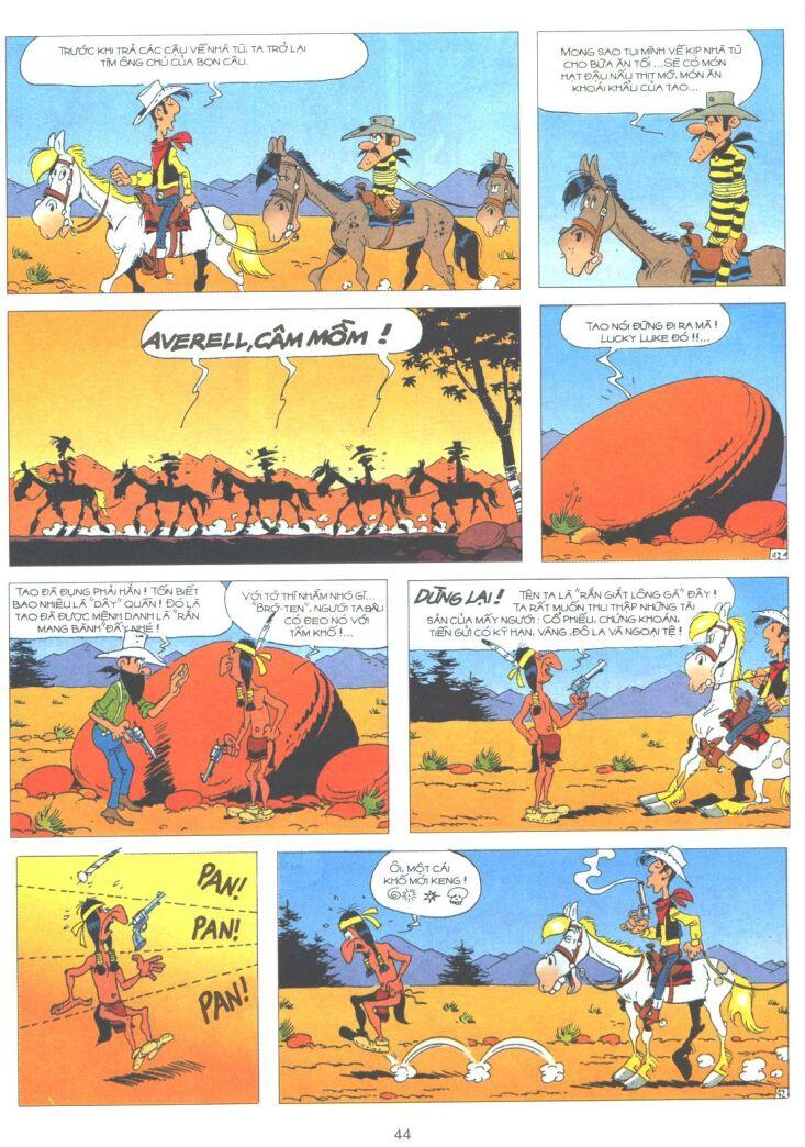 Lucky Luke tập 61 trang 42