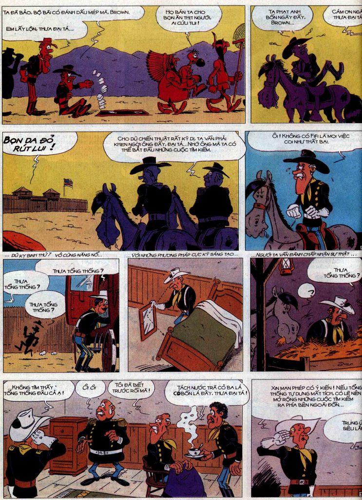 Lucky Luke tập 60 trang 36