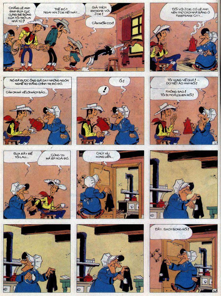 Lucky Luke tập 62 trang 30