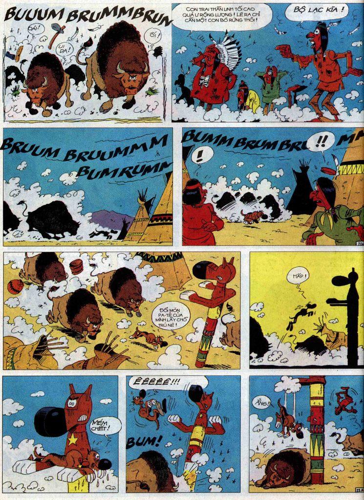 Lucky Luke tập 60 trang 22