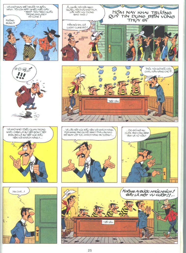 Lucky Luke tập 61 trang 23