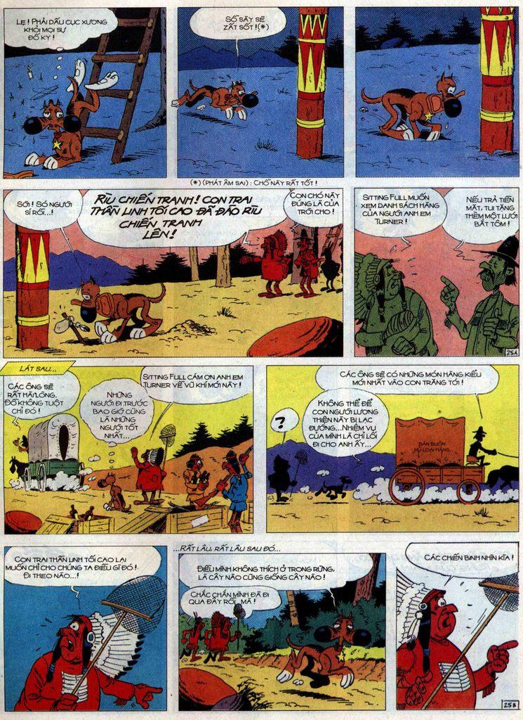 Lucky Luke tập 60 trang 25