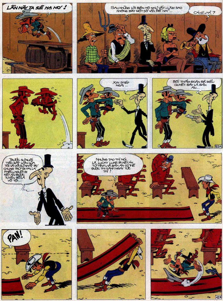 Lucky Luke tập 62 trang 42