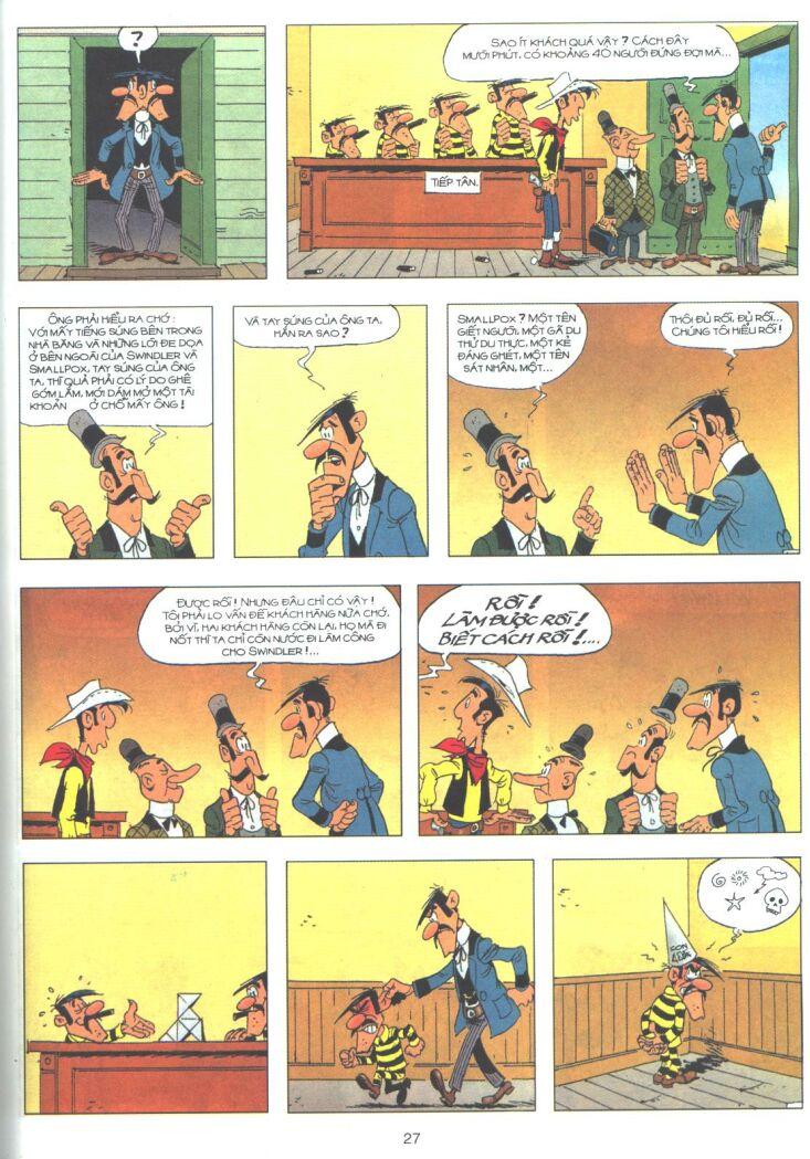 Lucky Luke tập 61 trang 25