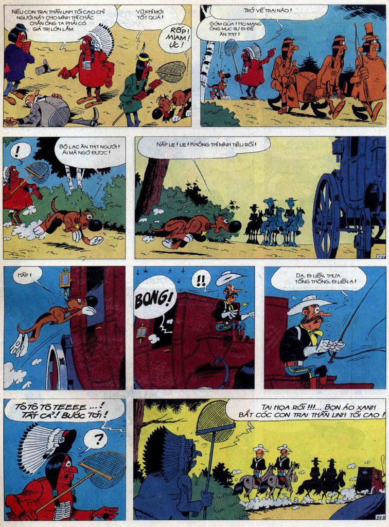Lucky Luke tập 60 trang 27