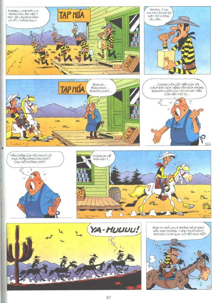 Lucky Luke tập 61 trang 35