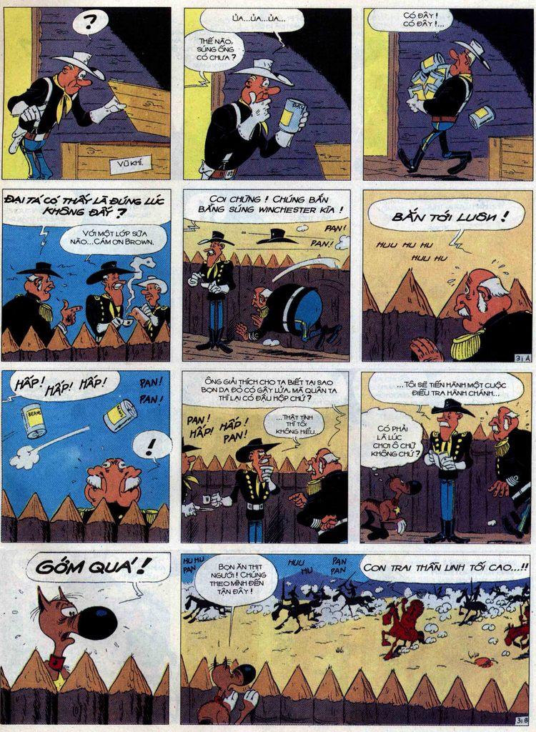 Lucky Luke tập 60 trang 31