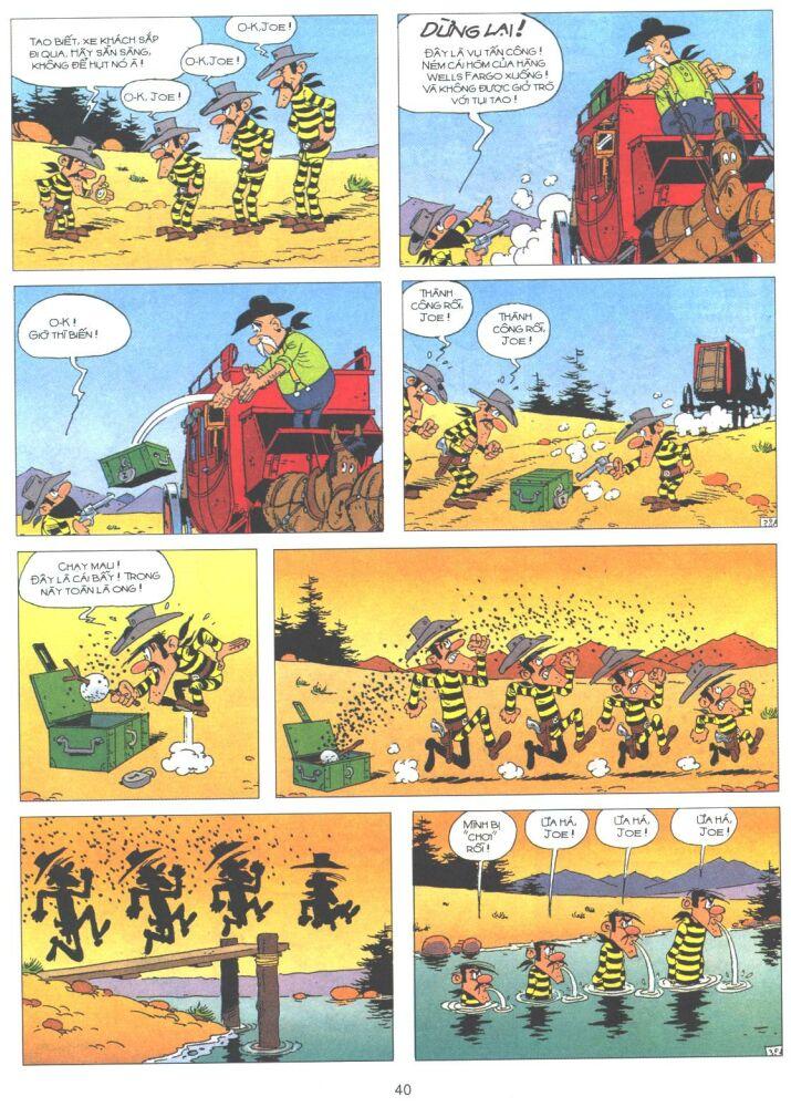 Lucky Luke tập 61 trang 38