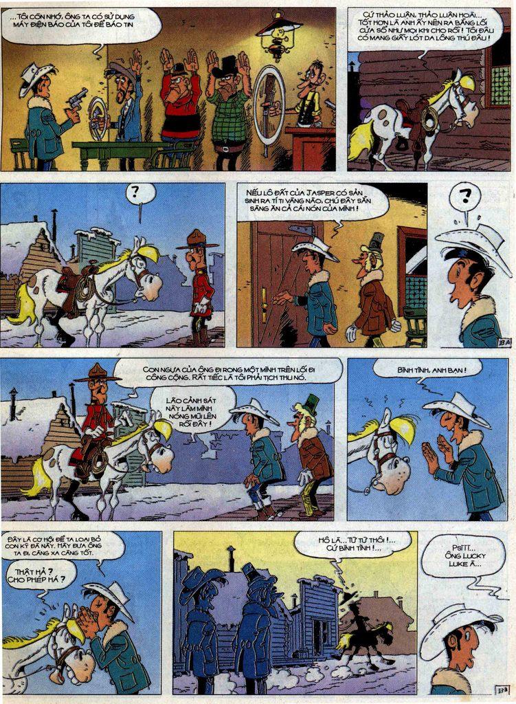 Lucky Luke tập 58 trang 33