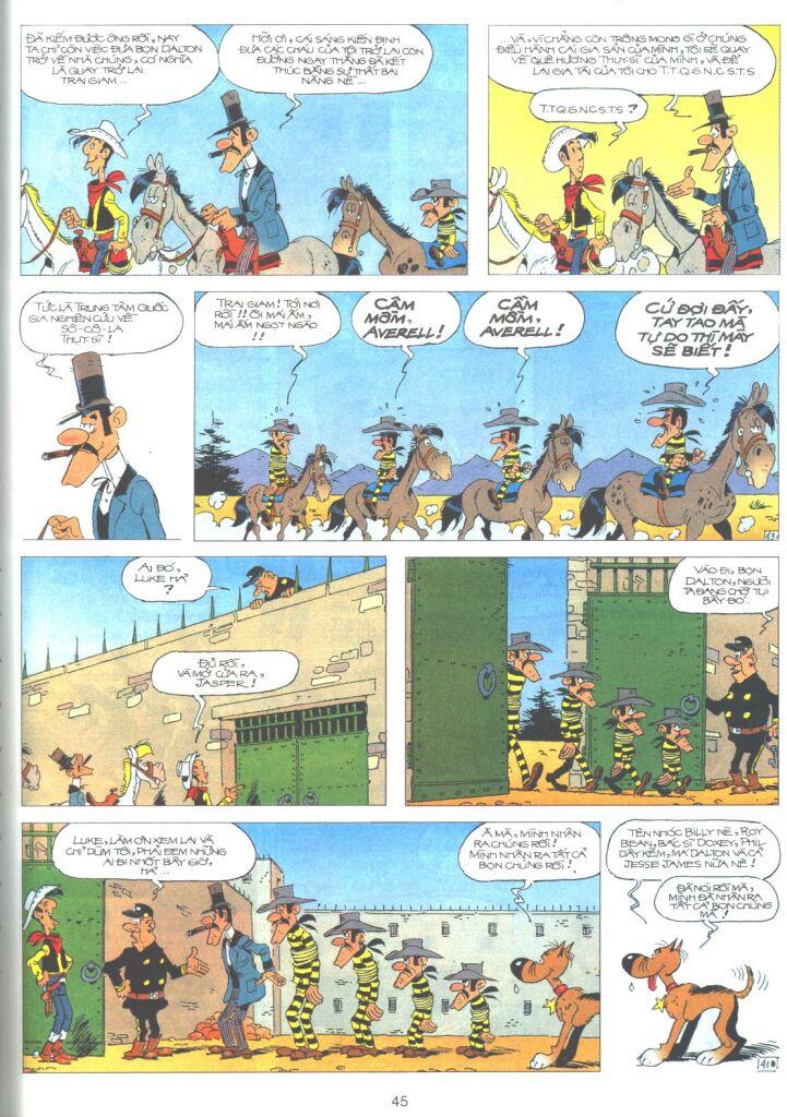 Lucky Luke tập 61 trang 43