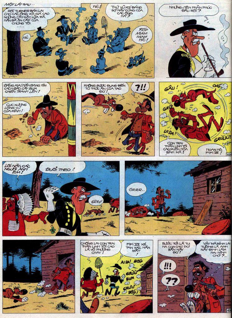 Lucky Luke tập 60 trang 42