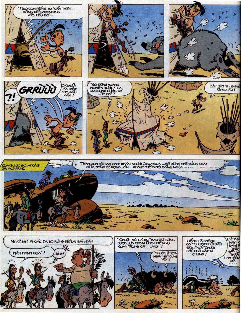 Lucky Luke tập 56 trang 16