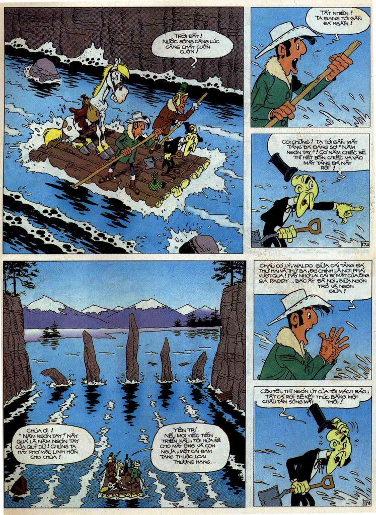 Lucky Luke tập 58 trang 17