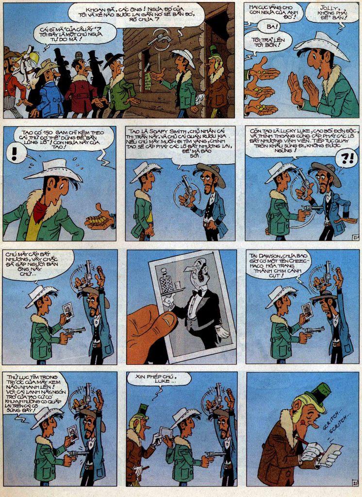 Lucky Luke tập 58 trang 21