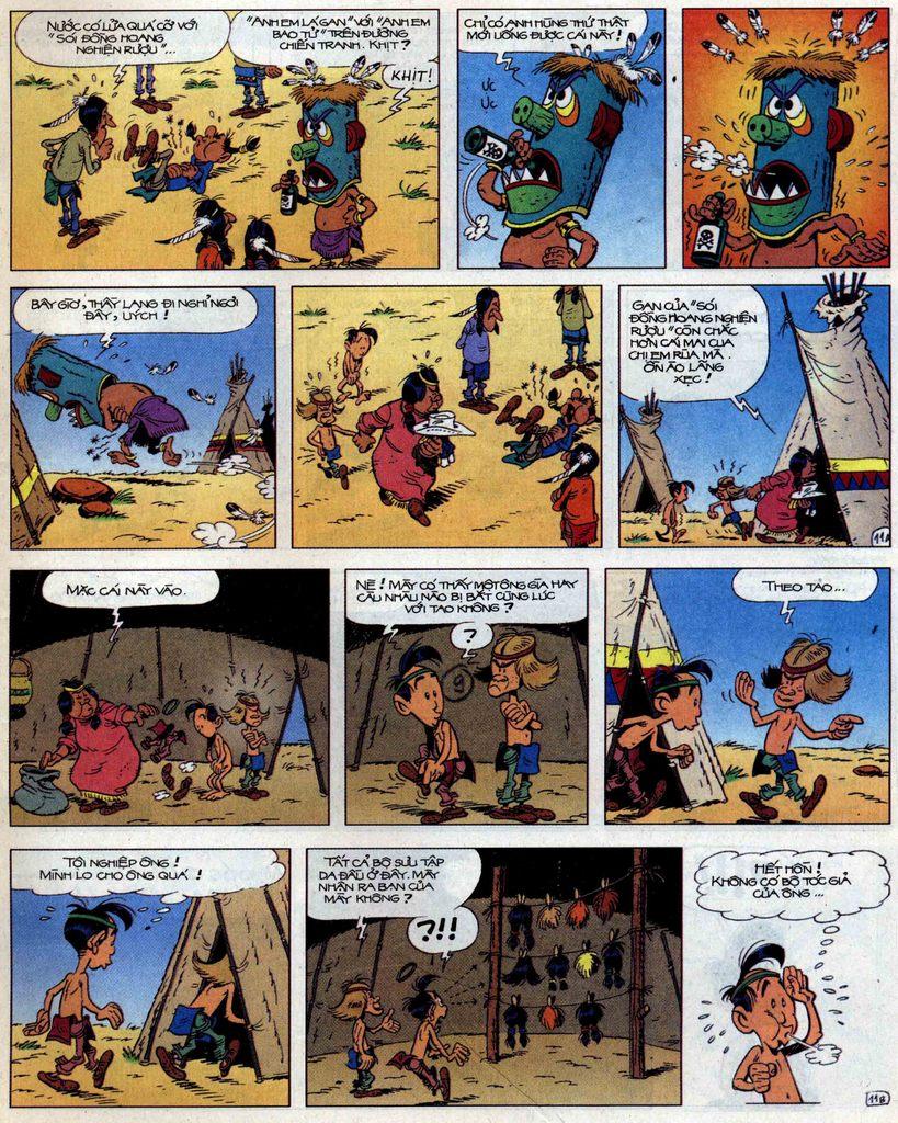 Lucky Luke tập 56 trang 11