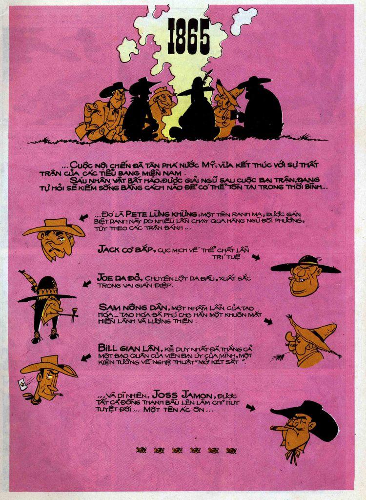 Lucky Luke tập 54 trang 1