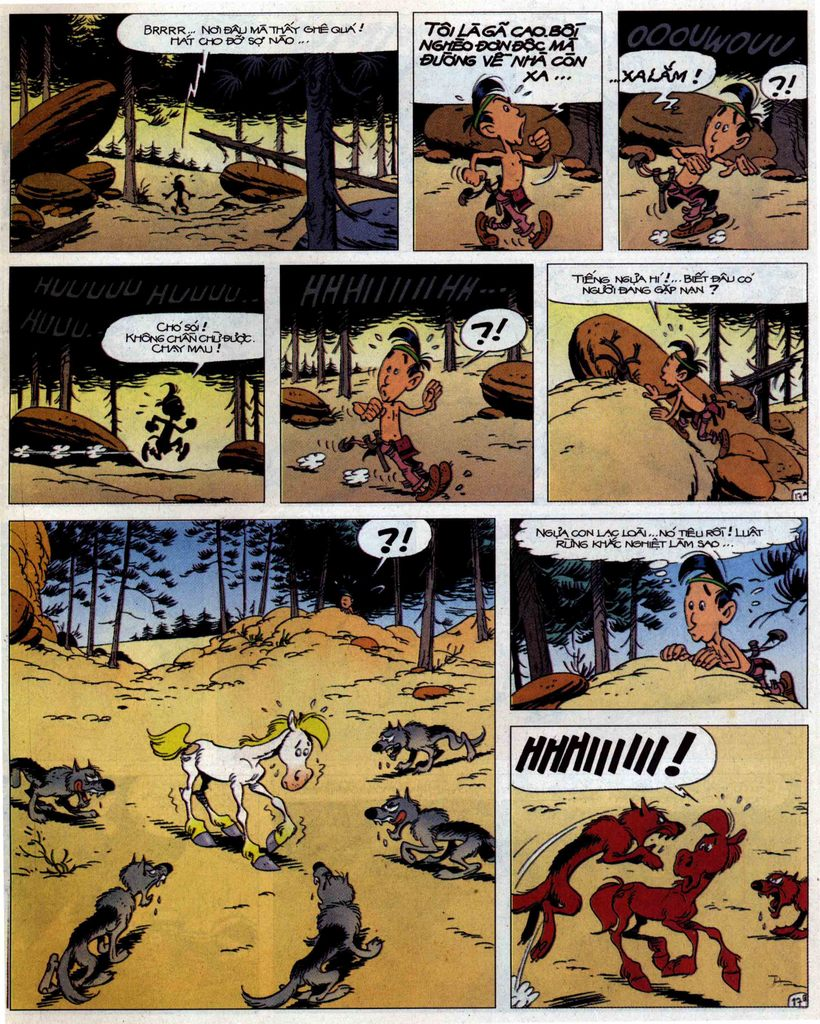 Lucky Luke tập 56 trang 17