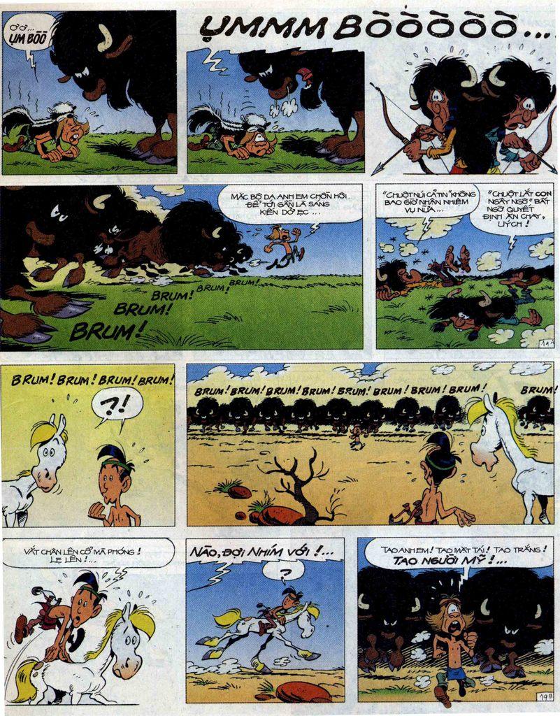 Lucky Luke tập 56 trang 19
