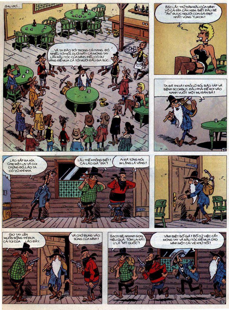 Lucky Luke tập 58 trang 37
