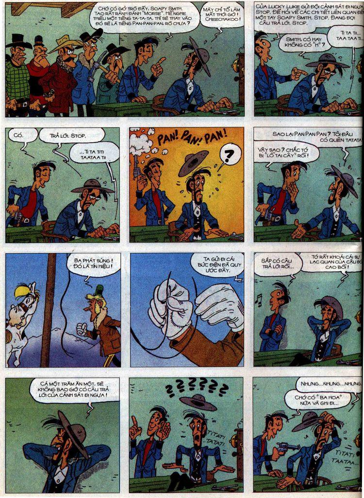 Lucky Luke tập 58 trang 40
