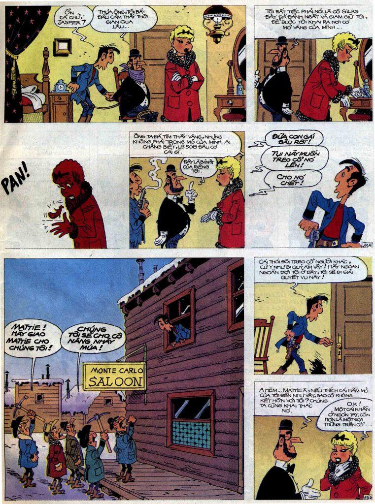 Lucky Luke tập 58 trang 43