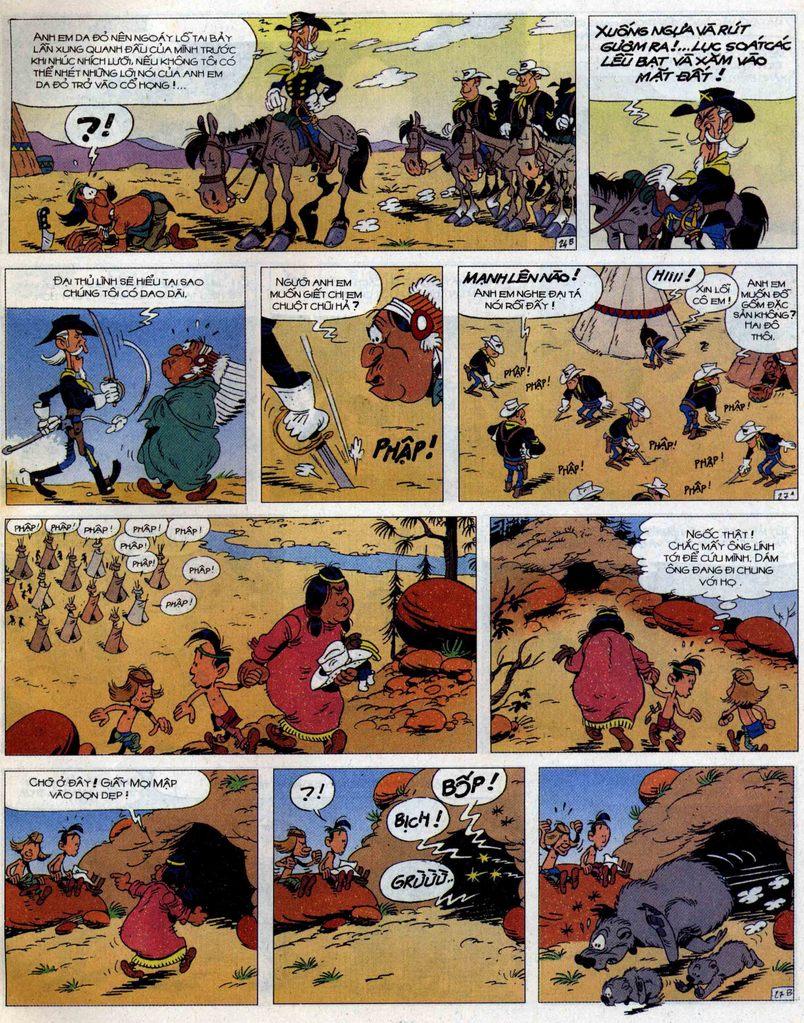 Lucky Luke tập 56 trang 27