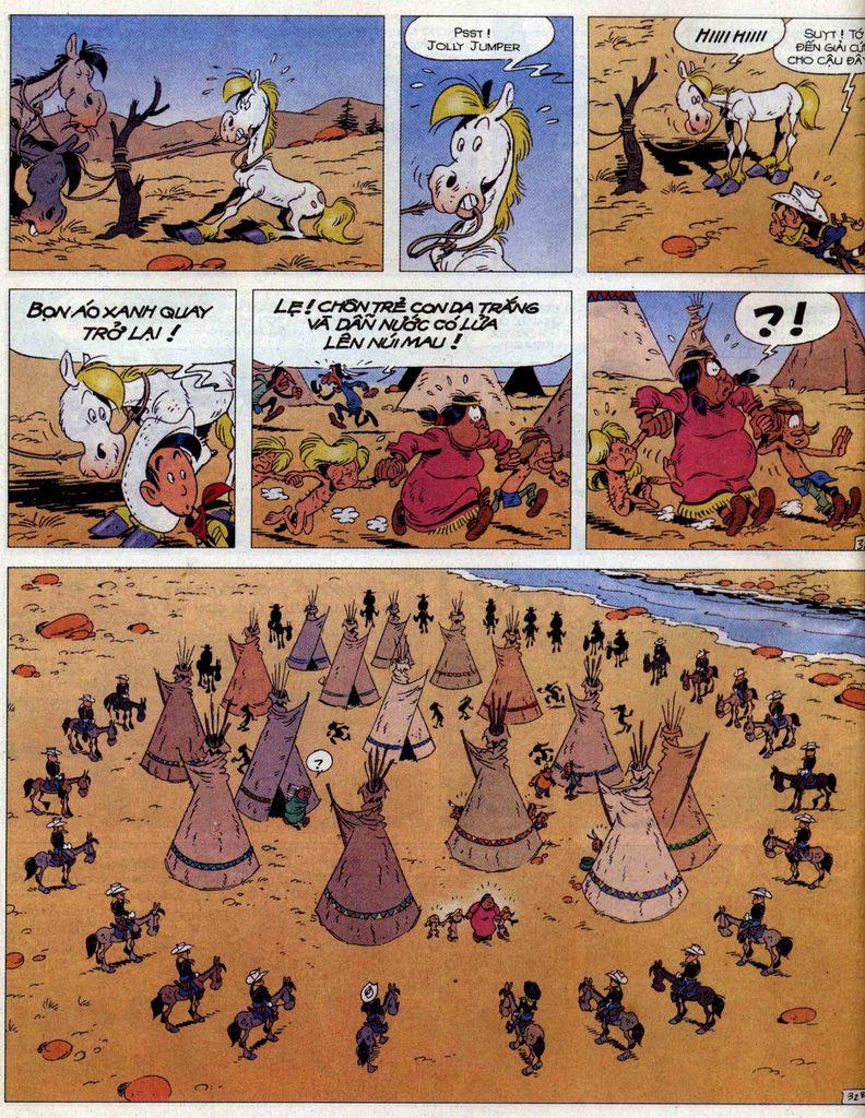 Lucky Luke tập 56 trang 32