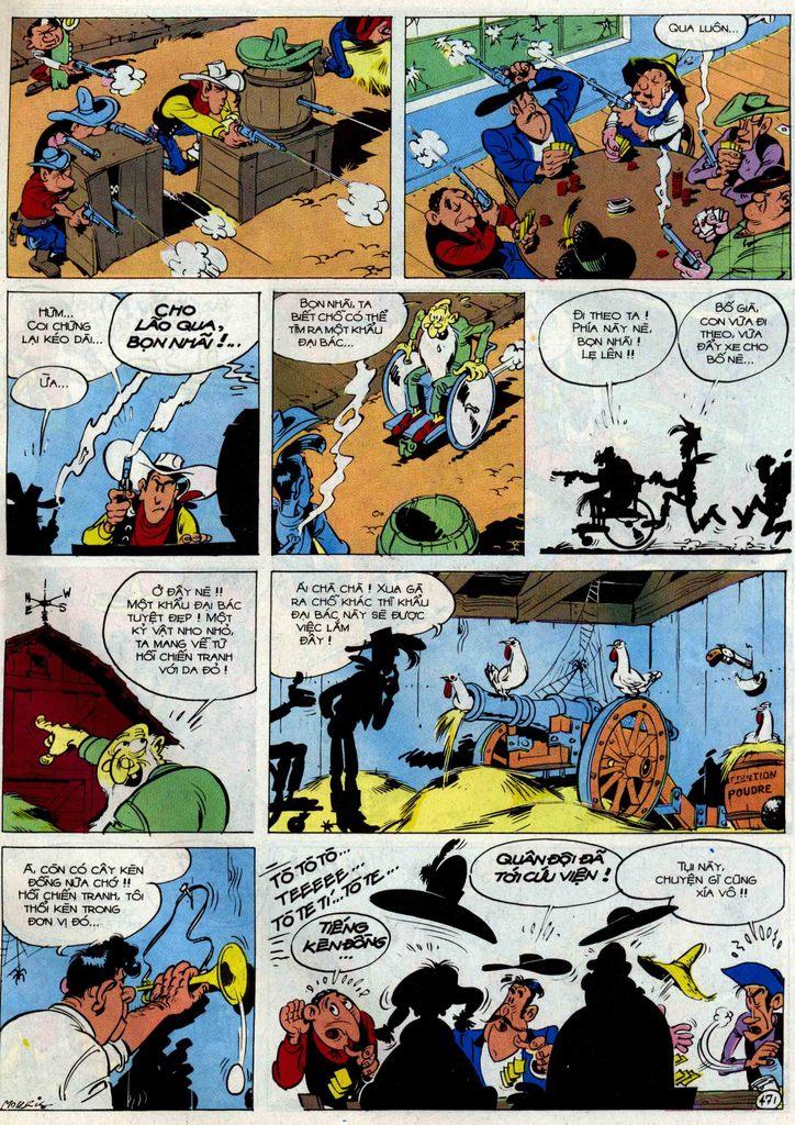 Lucky Luke tập 54 trang 37