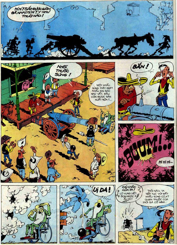 Lucky Luke tập 54 trang 38