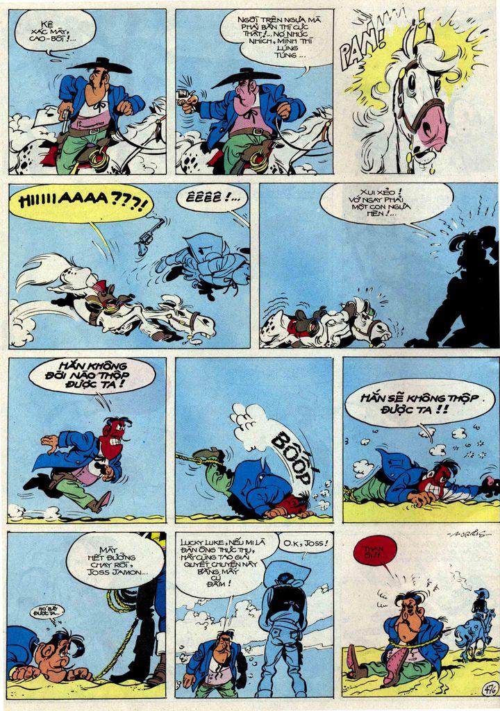 Lucky Luke tập 54 trang 42