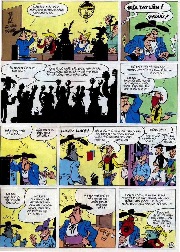 Lucky Luke tập 54 trang 11
