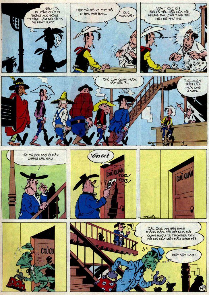 Lucky Luke tập 54 trang 13