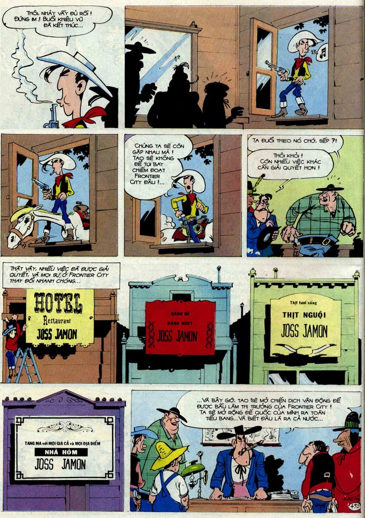 Lucky Luke tập 54 trang 16