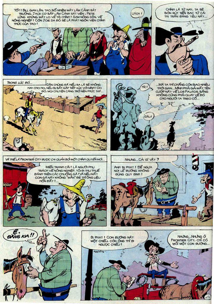 Lucky Luke tập 54 trang 20
