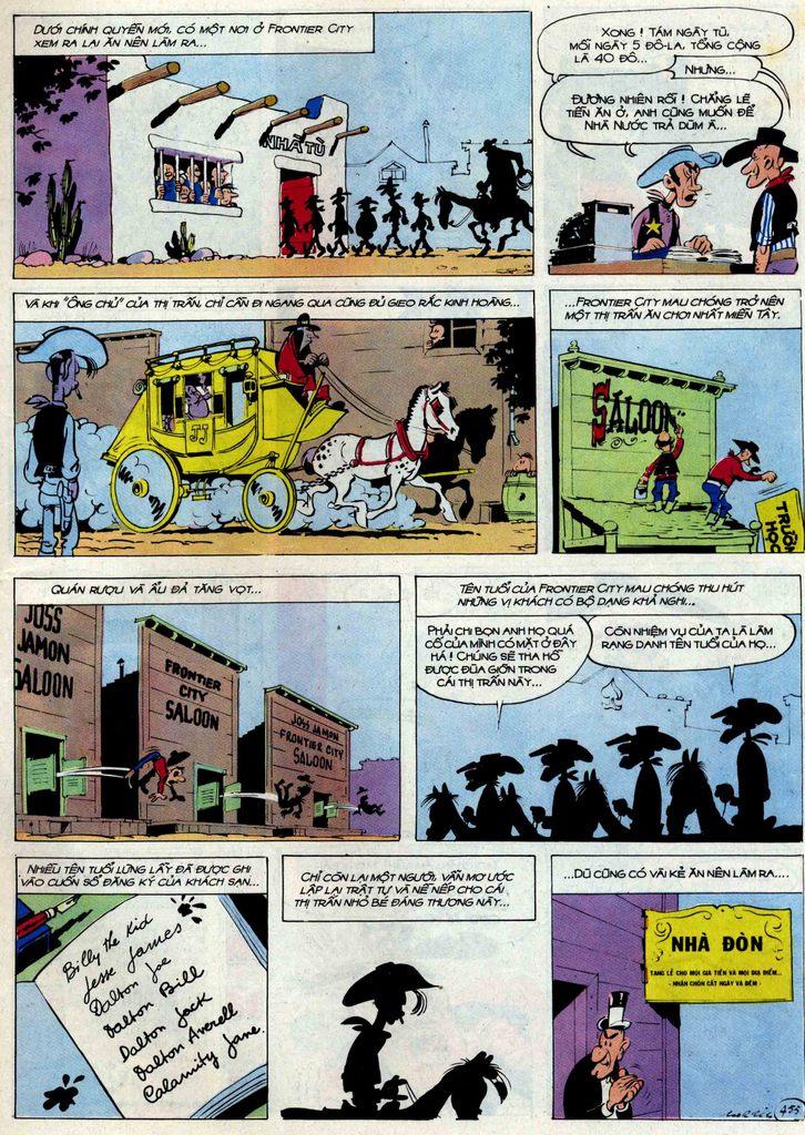 Lucky Luke tập 54 trang 21