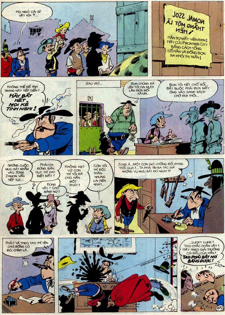 Lucky Luke tập 54 trang 23