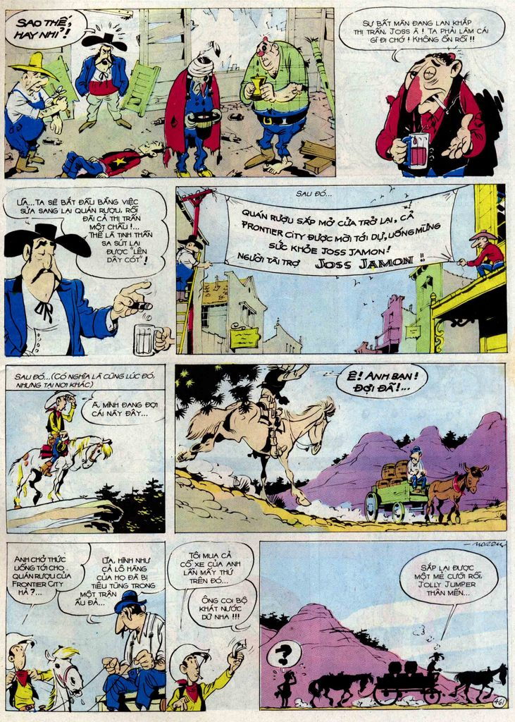 Lucky Luke tập 54 trang 27