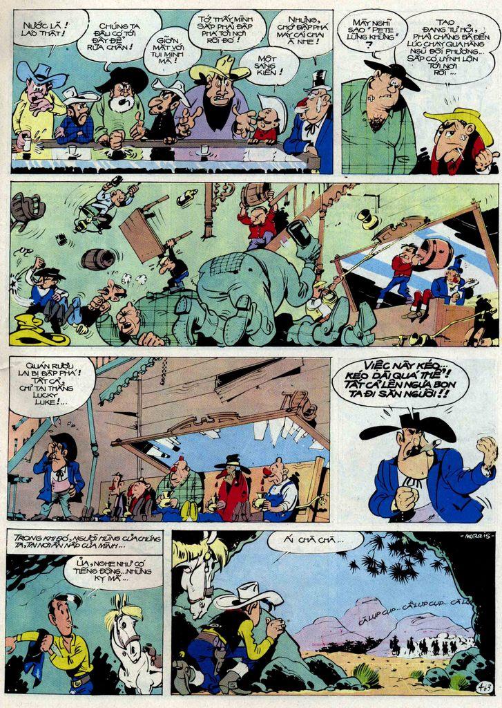 Lucky Luke tập 54 trang 29