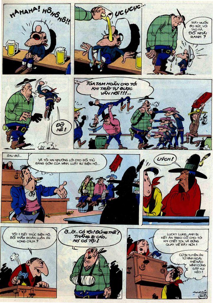Lucky Luke tập 54 trang 33